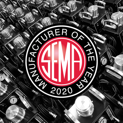 Redline Detection is chosen as SEMA's 2020 Manufacturer of the Year. (Graphic: Business Wire)