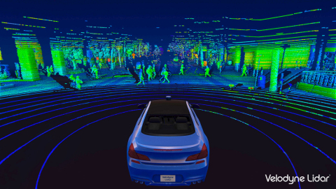 Velodyne's lidar sensors provide high-definition, three-dimensional information to autonomous vehicles and smart city solutions with the goal of saving lives, improving mobility and promoting sustainability. (Photo: Business Wire)
