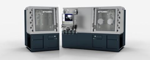 New CS250 and HC-TBR 3D Metal Printers from Optomec. Photo courtesy of Optomec, Inc.