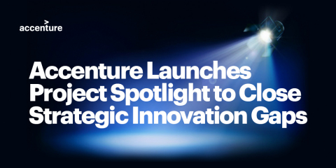 Accenture launches Project Spotlight to close strategic innovation gaps (Graphic: Business Wire)