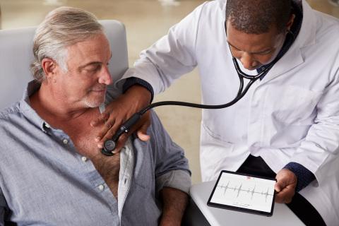 3M™ Littmann® CORE Digital Stethoscope with Eko software and AI-powered analysis. (Photo: Business Wire)