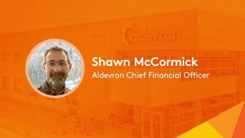 Shawn McCormick, Aldevron CFO (Graphic: Business Wire)