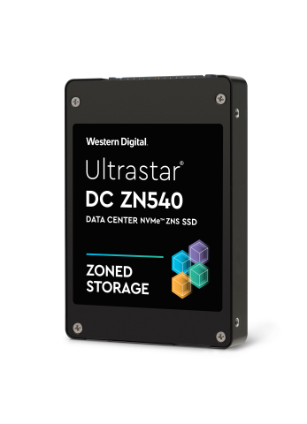 New Ultrastar DC ZN540 ZNS NVMe SSD for architecting a more efficient data center storage tier with competitive TCO. (Photo: Business Wire)