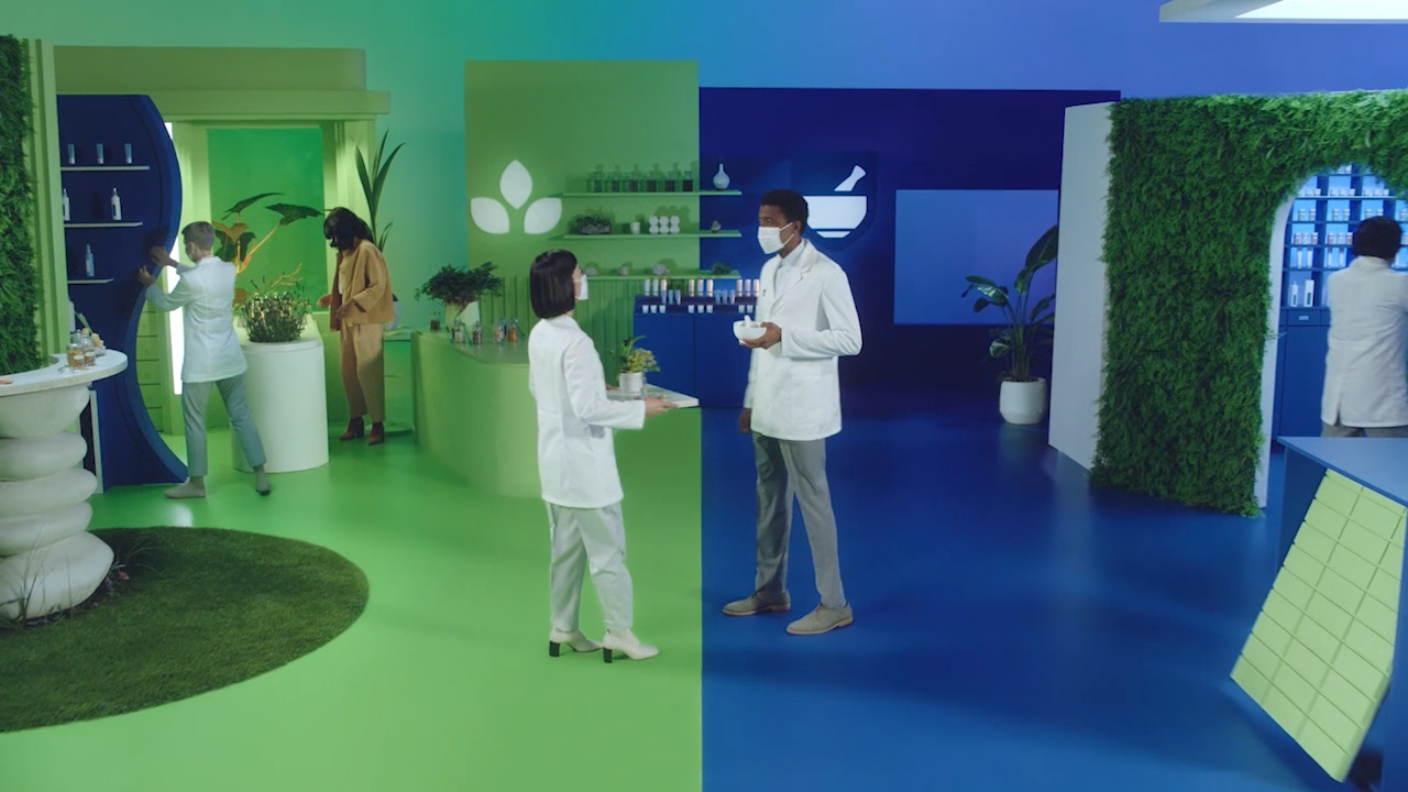 Rite Aid's new ad showcases Perfect Fusion between traditional medicine and alternative remedies.