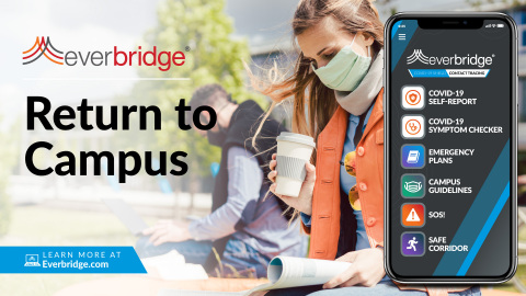 Major Universities Accelerate Adoption of Everbridge 'Return to Campus' Solution (Photo: Business Wire)