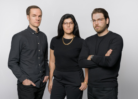 Left to right: Local Logic Co-Founder/CPO Gabriel Damant-Sirois, COO Amanda Levin and Founder/CEO Vincent Charles-Hodder. (Photo: Business Wire)