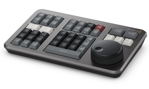 Blackmagic Design DaVinci Resolve Speed Editor (Photo: Business Wire)
