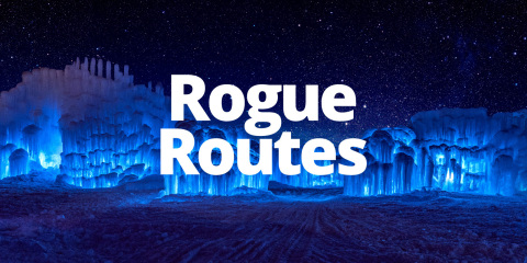 Rogue Routes final event will be held at Ice Castles in North Woodstock, New Hampshire. (Photo: Business Wire)