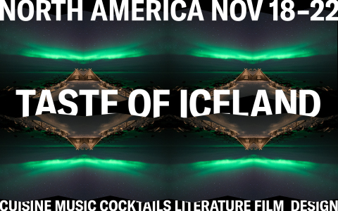 Taste of Iceland, an annual festival that celebrates Iceland's vibrant culture, announced today, for the first time ever, that it is going virtual from November 18 - 22. (Graphic: Business Wire)