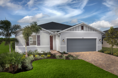 KB Home announces the grand opening of Grady Pointe, a new-home community in Sarasota, Florida, priced from the low $300,000s. (Photo: Business Wire)