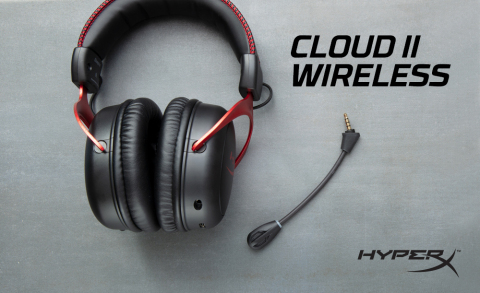 HyperX Cloud II Wireless Now Available (Photo: Business Wire)