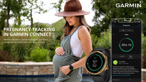 Garmin Pregnancy Tracking (Photo: Business Wire)