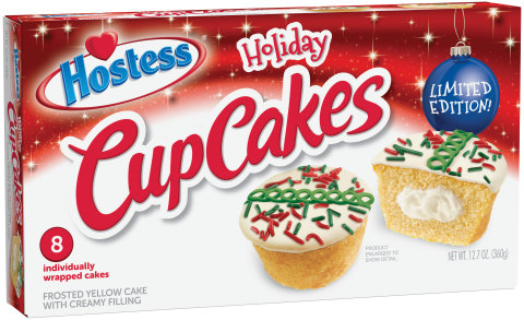 Hostess® Holiday CupCakes (Photo: Business Wire)