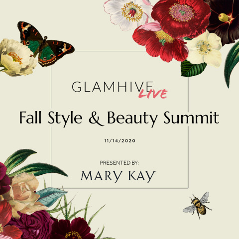 The Glamhive Digital Fall Style and Beauty Summit will bring together top fashion and beauty leaders (Graphic: Mary Kay Inc.)