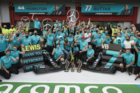 TIBCO and Mercedes-AMG Petronas Formula One Team Deliver Data-Driven Results to Win Championships (Photo: Business Wire)