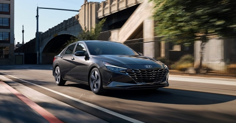 All-new 2021 Elantra and Elantra Hybrid models in North America will featuring a Dynamic Voice Recognition system—powered by Houndify (Photo: Business Wire)
