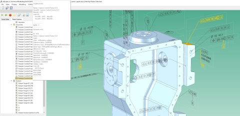 NIST STEP AP242 model imported using 3D InterOp (Photo: Business Wire)