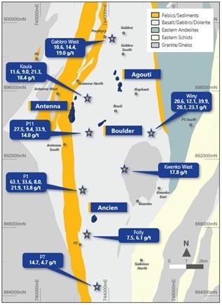 Fig 3. Seguela Regional Reconnaissance (Graphic: Business Wire)