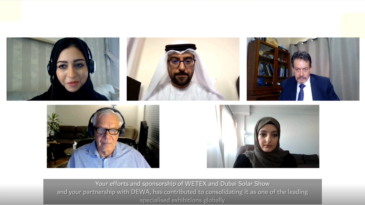 3D virtual WETEX & Dubai Solar Show attracts 63,058 visitors, largest number in its history (Video: AETOSWire).