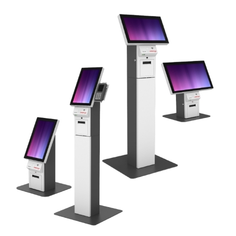Posiflex Mercury Series of Compact, Modular Self-Service Kiosks (Photo: Business Wire)