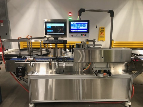 Aphena has added several pieces of biologics packaging equipment as part of its $21M expansion into turnkey biologics packaging and distribution and cold chain storage. (Photo: Business Wire)