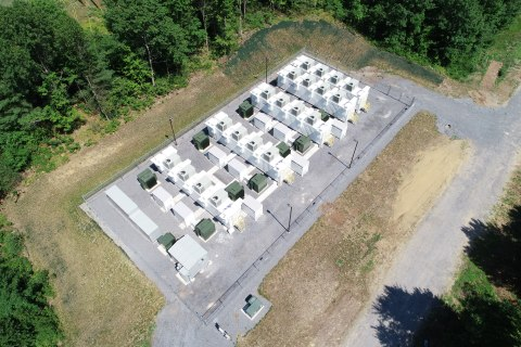 Key Capture Energy's KCE NY 1 Storage Project (Photo: Business Wire)