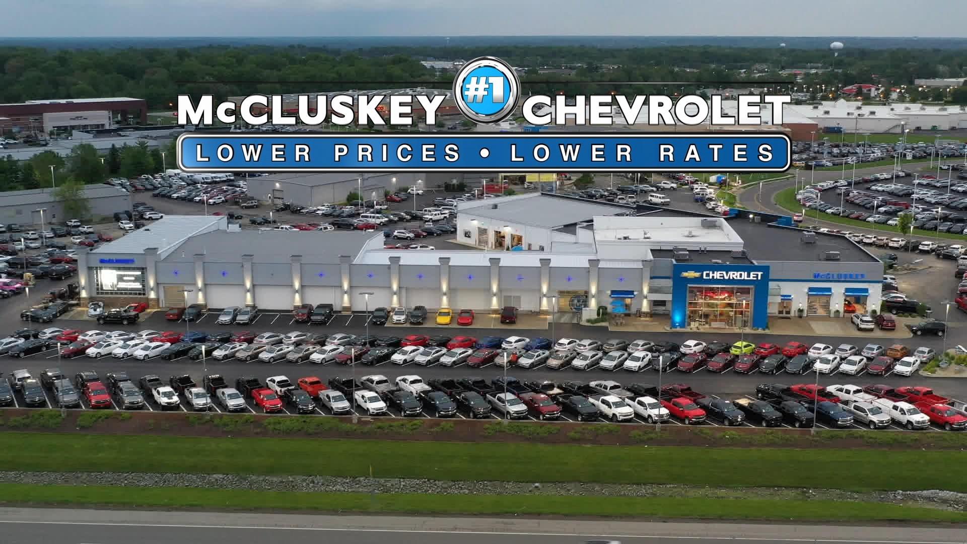 Mccluskey Chevrolet Earns Two Gm Awards Dealer Of The Year And 1 Volume New Car Chevy Dealer In The World Business Wire