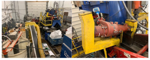 Pilot Plant Setup at SGS Canada (Photo: Business Wire)