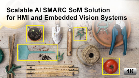 Scalable AI SMARC SoM solution for HMI and embedded vision systems (Photo: Business Wire)