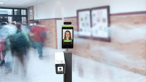 Brother partners with Creative Realities to integrate printers as part of the Safe Space Thermal Mirror Solution (Photo: Business Wire)