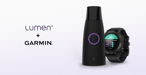 Lumen and Garmin integration (Photo: Lumen)