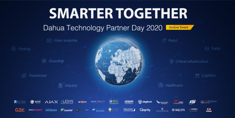 Dahua Technology (Gráfico: Business Wire) hospedará o Online Partner Day 2020 com 26 parceiros de tecnologia
