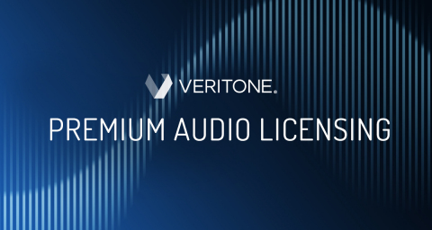 Veritone's premium audio licensing library and services enable podcasters, broadcasters and other audio creators to easily license clips of premium audio content from major media brands for their programs, as well as monetize their own content. (Graphic: Business Wire)