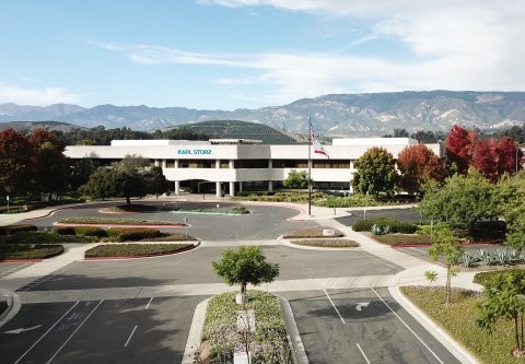 The KARL STORZ Imaging facility in Goleta, California, houses the product development group as well as the high-tech manufacturing and service divisions. (Photo: Business Wire)