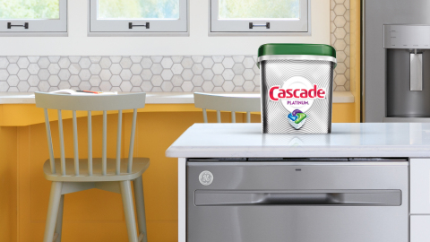Cascade and GE Appliances Are on a Mission to Help You Save Water This Holiday Season