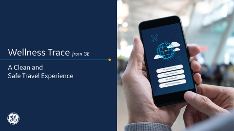 Albany Airport launches GE's Wellness Trace app for COVID-19 cleaning protocols. (Graphic: Business Wire)