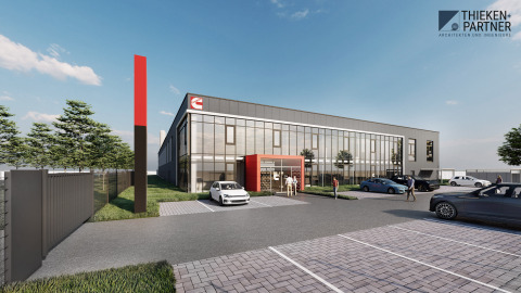 Rendering of Cummins facility in Herten, Germany. (Photo: Business Wire)