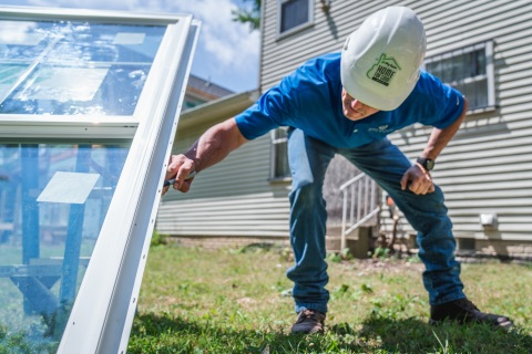 In addition to donating $275K in building products through its Home for Good project, Cornerstone Building Brands is asking the public to share its #ConnectingCommunities video on social media and the company will donate $25 per share* to Habitat for Humanity's Homes, Communities, Hope + You campaign. (Photo: Business Wire)