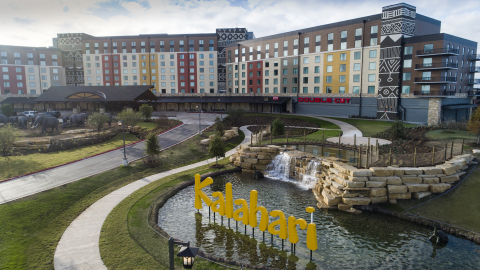 The new Kalahari Resorts and Conventions is America's Largest Indoor Waterpark Resort in Round Rock, Texas with 1.5 million square feet of space to play and something fun for every age, all under one roof. (Photo: Business Wire)