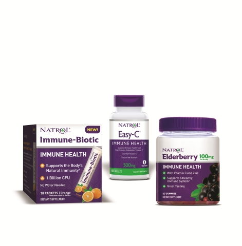 Natrol's new immune health products (Photo: Business Wire)