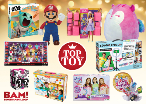 Books-A-Million's Top 10 Toy Picks for Holiday 2020 (Photo: Business Wire)