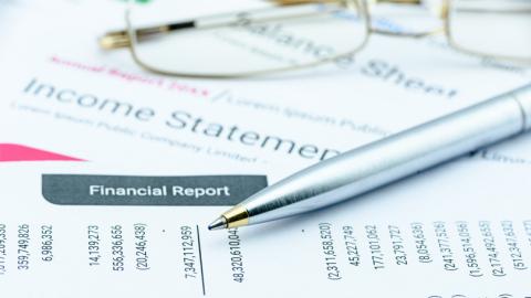 Financial documents (Photo: Wells Fargo).