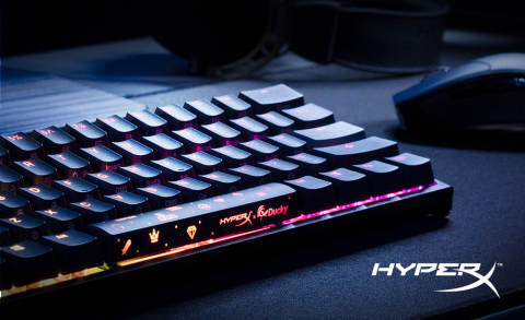 HyperX Launches HyperX x Ducky One 2 Mini Mechanical Gaming Keyboard with Black Colorway (Photo: Business Wire)