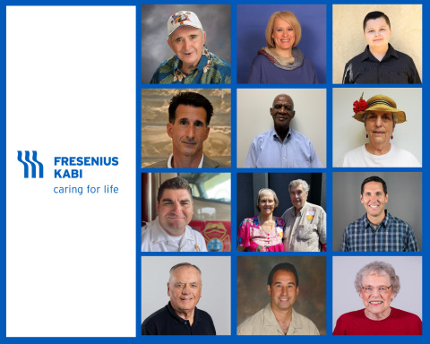 The newest inductees to the Fresenius Kabi Blood Donation Hall of Fame are recognized for their passion and commitment to blood donation whether through their own donations or by educating and encouraging others to donate. (Graphic: Business Wire)