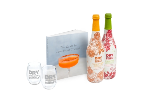 """DRY Soda Company's """"The Guide to Zero-Proof Cocktails"""" Gift Set (Photo: Business Wire)"""