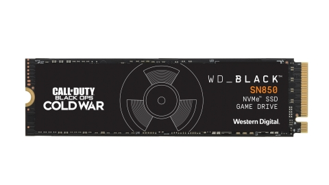 WD_BLACK™ Call of Duty®: Black Ops Cold War Special Edition SN850 NVMe SSD (Photo: Business Wire)