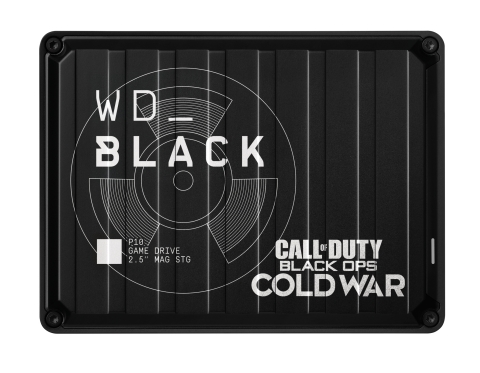 WD_BLACK™ Call of Duty®: Black Ops Cold War Special Edition P10 Game Drive (Photo: Business Wire)