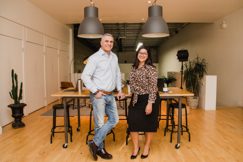 Dr. Sam Daher, Co-Founder and President with Samantha Leonard, Co-Founder and CEO of Stream Dental HR (Photo: Business Wire)