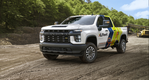 XL's plug-in hybrid electric drive technology can now be installed onto a range of commercial fleet vehicles from General Motors, including popular Silverado and Sierra pickup trucks. (Photo: XL Fleet)
