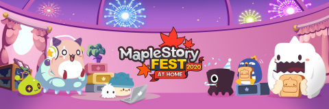 MapleStory Fest at Home 2020 Banner (Graphic: Business Wire)